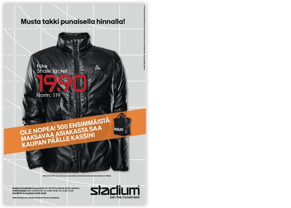 Stadium Öppningsbilaga Jyväskylä
